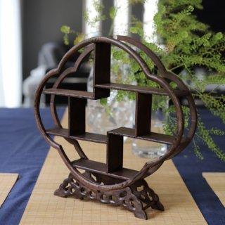 木製シノワズリ飾り棚