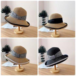 りぼん麦わら帽子 4種