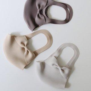 上品カラー日本製洗えるリボンワイヤーマスク