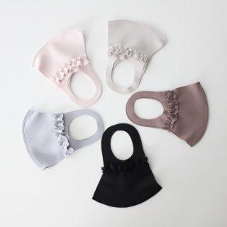 新色登場☆上品カラー日本製洗えるフリルワイヤーマスク