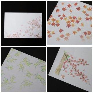 四季懐紙 テーブルマット(5枚入り)