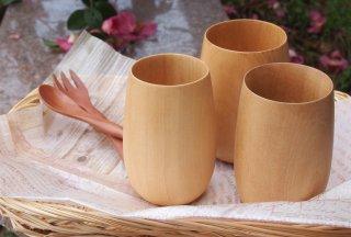 木のグラス Mサイズ