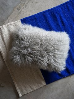 Lamb Fur Cushion画像