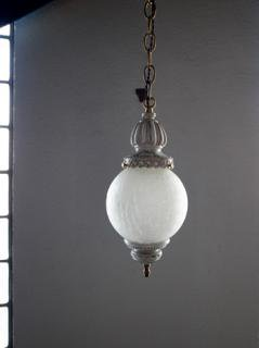 Crackle Glass Lamp画像