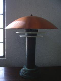 Copper Stand Lamp画像