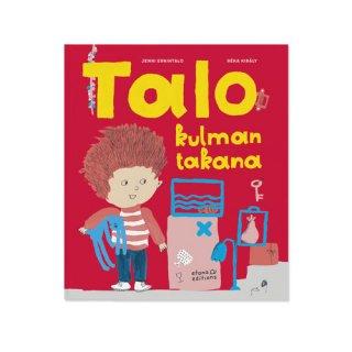 Talo kulman takana / Jenni Erkintalo & Réka Király / Etana Editions / フィンランド語 / 絵本