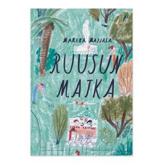 Ruusun matka / Marika Maijala / Etana Editions / フィンランド語 / 絵本