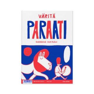 Väritä paraati/Antti Kalevi/ Etana Editions / ポスター/塗り絵
