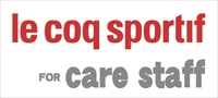 Le coq sportif for care staff