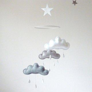 【 the butter flying 】 雲のモビール SHINTO  【ザ バター フライング】 インテリア クラウドモビール インポート雑貨 子供部屋 ベビー雑貨