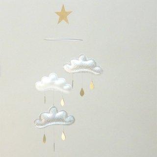 【 the butter flying 】 雲のモビール KATIE  【ザ バター フライング】 インテリア クラウドモビール インポート雑貨 子供部屋 ベビー雑貨