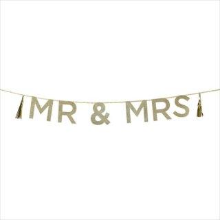SALE◆【Talking tables】MR&MRS パーティーバナー ガーランド(SAY-MRANDMRS) トーキングテーブルス