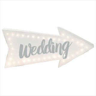 【Talking tables】ライト WEDDINGサイン(ILLUM-WEDDING) トーキングテーブルス