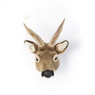 【Wild&Soft ワイルドソフト】ぬいぐるみ アニマルヘッド シカ 鹿 【Animal Head Roebuck 】壁掛けプレゼント【こども部屋 リビングに】
