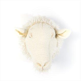 【Wild&Soft ワイルドソフト】ぬいぐるみ アニマルヘッド ヒツジ 羊【Animal Head Sheep】壁掛け プレゼント【こども部屋 リビングに】