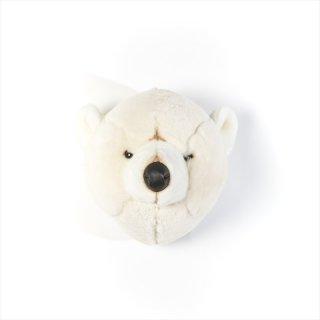 【Wild&Soft ワイルドソフト】ぬいぐるみ アニマルヘッド ポーラーベア シロクマ 白くま 【Animal Head Polar Bear】壁掛け【こども部屋 リビングに】