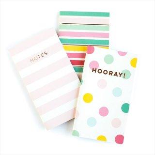 SALE◆【my mind's eye マイマインズアイ】フレー ミニノートブック 3冊セット Hooray Mini Notebooks 【プレゼント ギフト 】(HRP211)