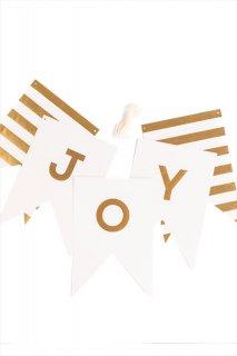 【my mind's eye マイマインズアイ】ファンシーレターバナー ホワイト Fancy Letter Banner フラッグ レターバナー ガーランド(FYP101)