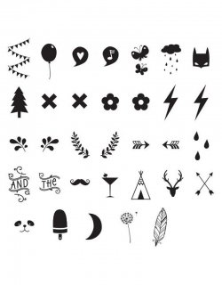 【a little lovely company】 Numbers & Symbols ライトボックス用 文字・記号パーツ A5サイズ A4サイズ 対応