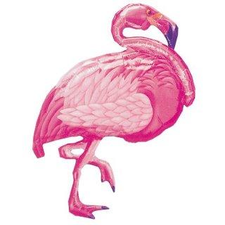 【フィルム風船】ガス無し【フラミンゴ】サマーパーティーの演出に pink flamingo ピンクのフラミンゴ【メール便発送可能】