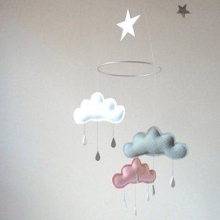 【 the butter flying 】 雲のモビール CHLOE 【ザ バター フライング】 インテリア クラウドモビール インポート雑貨 子供部屋 ベビー雑貨 北欧