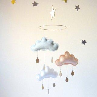 【 the butter flying 】 雲のモビール MEGHAN  【ザ バター フライング】 インテリア クラウドモビール インポート雑貨 子供部屋 ベビー雑貨 北欧