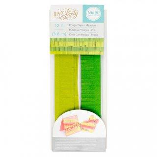 フリンジテープ/メドウ  GREEN【ピニャータ作りに最適、ミニサイズのフリンジテープ 緑 グリーン DIY】(660796)
