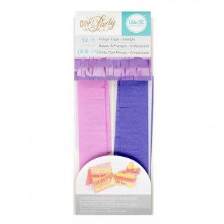 フリンジテープ/トワイライト PURPLE PINK【ピニャータ作りに最適、ミニサイズのフリンジテープ 紫 ピンク DIY】(660798)
