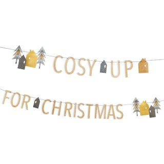 【Talking Tables】 COSY UP FOR CHIRSTMAS ガーランド バナー ノルディッククリスマス(NORDIC-COSYGARLAND)