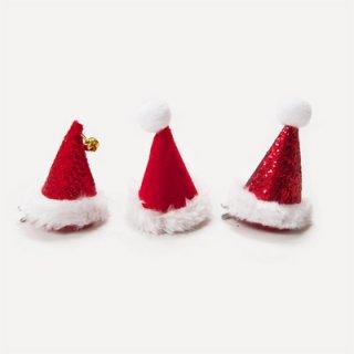 【Talking Tables】ミニサイズのパーティーハット 赤 サンタクロース帽子 クリスマス 3種類セット(ENT-HAT-POS) トーキングテーブルス