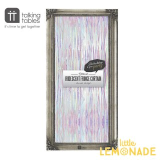 【Talking Tables】フリンジカーテン/オーロラカラー (  GLIT−CURTAINIRI) トーキングテーブルス