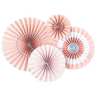 【my mind's eye マイマインズアイ】ベーシック ペーパーファンセット/バレエ 【ペーパーファン ホームパーティー パーティー 装飾 飾り付け 誕生日 ライトピンク】(PLCP05)