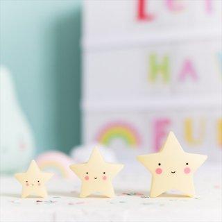 【a little lovely company】MINIS ミニフィギュア3個入り【クラウド・アイスクリーム・サン&ムーン・スター】 小さなおもちゃ