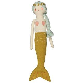 【Meri Meri メリメリ】マーメイド クッションKnitted mermaid Cushion 【インテリア 子ども部屋 キッズルーム ファブリック 人魚姫 】(30-0015)