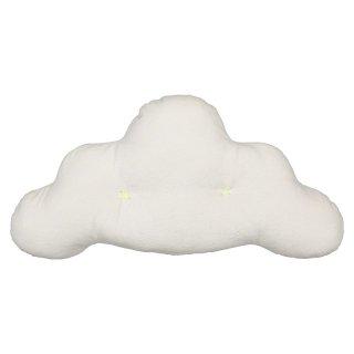 【Meri Meri メリメリ】雲のカタチのクッション ベルベット ホワイト 白【インテリア 装飾 デコレーション お祝い】【子ども部屋 リビング ソファーに】(30-0062)