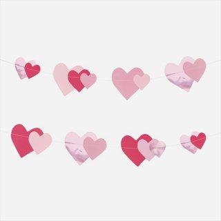 【my little day マイリトルデイ】ピンクハート ガーランド ペーパーガーランド  ◆SALE