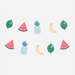 【my little day マイリトルデイ】トロピカルフルーツ ペーパーガーランド ◆SALE