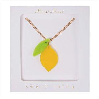 【Meri Meri メリメリ】ネックレス 【Lemon・レモン】