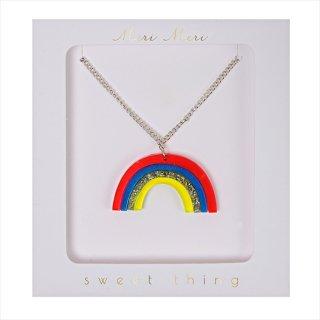 【Meri Meri メリメリ】ネックレス 【Rainbow・レインボー】