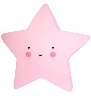 【a little lovely company】ピンク スター ライト【おほしさまの形のライト】子供部屋 インテリア 照明 ライティング star light