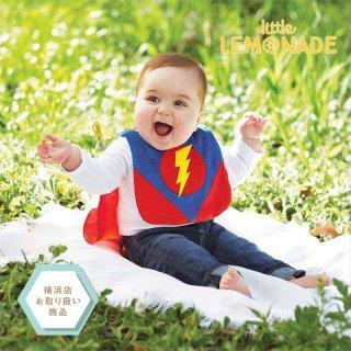 【Mud Pie】スーパーヒーロースタイ/SUPERHERO BIB【ハロウィン 変身 ヒーロー スーパーマン】(1552236)