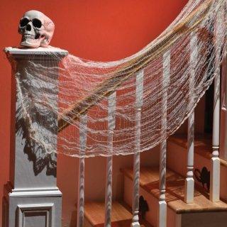 【amscan】ハロウィン クリーピークロス ホワイト ブラッディー ハロウィンの装飾・演出に