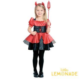 【コスチューム プリティデビル】ハロウィンのコスプレや仮装に キッズサイズ 【halloween  ハロウィンパーティー パーティ— イベント】
