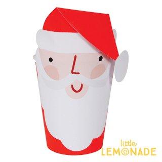 【Meri Meri クリスマス】サンタのペーパーカップ ペーパーカバー 8個入り(45-2964)