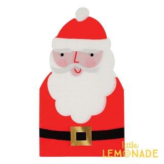 【Meri Meri クリスマス】サンタクロース ダイカット ペーパーナプキン 16枚入り(45-2953)