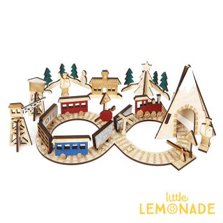 【Meri Meri メリメリ クリスマス】トレイン&レールウェイ クリスマスまでのカウントダウン アドベントカレンダー (45-2549)