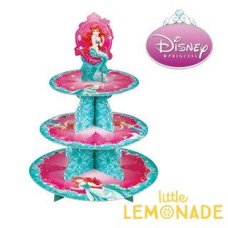 【Wilton】アリエル リトルマーメイド カップケーキスタンド 紙製 【ディズニー ディズニープリンセス プリンセス Disney】(1512-4355)
