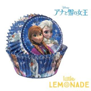 【Wilton】アナと雪の女王 べーキングカップ 50枚入り【ディズニー プリンセス ディズニープリンセス エルサ オラフ Disney】(415-4500)