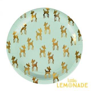 【my little day マイリトルデイ】小鹿 ペーパープレート 8枚入り  deer シカ クリスマス