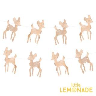 【my little day マイリトルデイ】小鹿のゴールドフォイル ガーランド  deer シカ ◆SALE